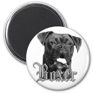 Imán del perro del boxeador