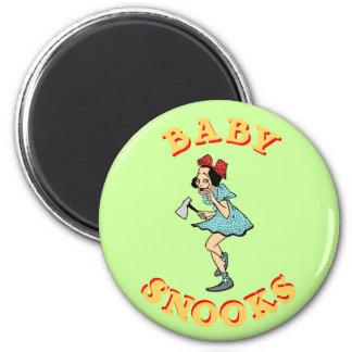 Imán del personalizable de los Snooks del bebé