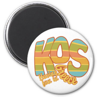 Imán del personalizado de KOS Grecia