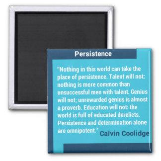 Imán del personalizado de la persistencia