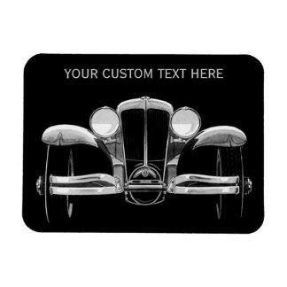 Imán del personalizado del coche del vintage