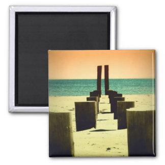 Imán del pilón de la playa