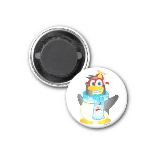 Imán del pingüino del giro excéntrico