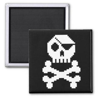 Imán del pirata de Digitaces