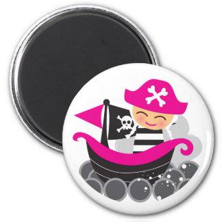 Imán del pirata del chica