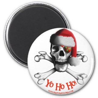 Imán del pirata del navidad