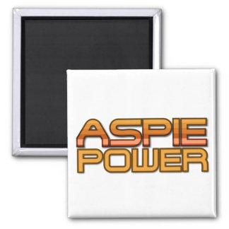 Imán del poder de Aspie