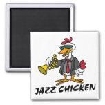 Imán del pollo del jazz