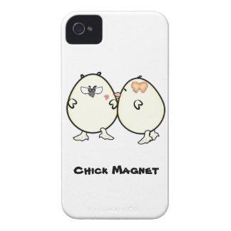 Imán del polluelo de Barely There 4/4S de la casam iPhone 4 Cobertura