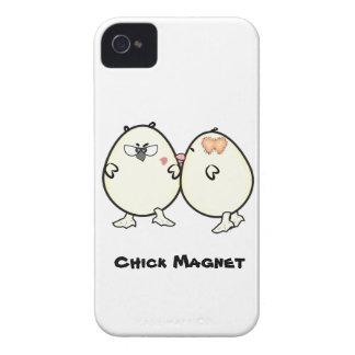Imán del polluelo de la identificación 4/4S de la  Case-Mate iPhone 4 Carcasas