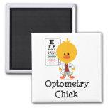 Imán del polluelo de la optometría