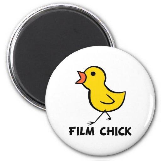 Imán del polluelo de la película