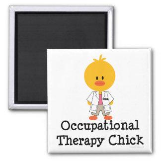 Imán del polluelo de la terapia profesional