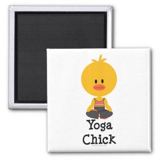 Imán del polluelo de la yoga