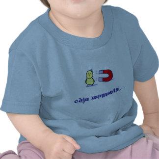 imán del polluelo del bebé (letón) camiseta