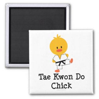 Imán del polluelo del Taekwondo