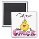 Imán del polluelo del vegano
