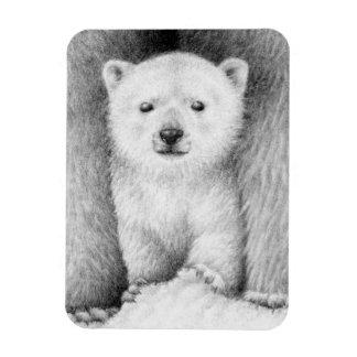 Imán del premio de Cub del oso polar