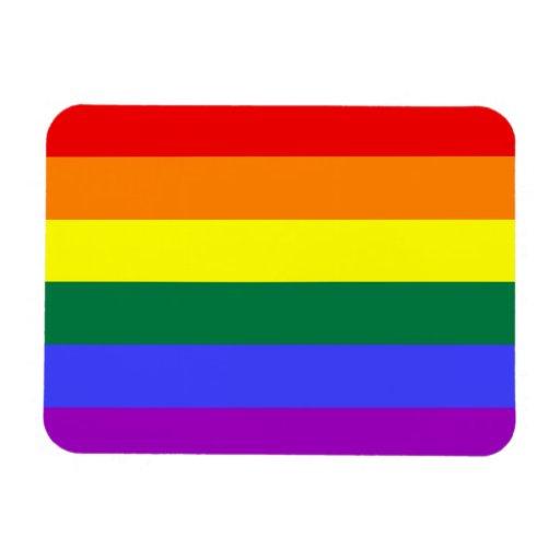Imán del premio de la bandera del orgullo del arco
