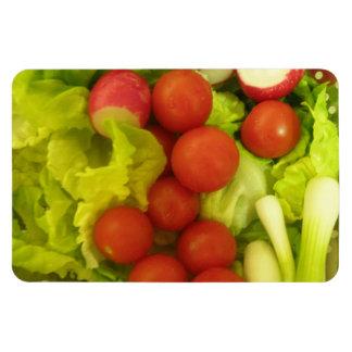 Imán del premio de las verduras de ensalada
