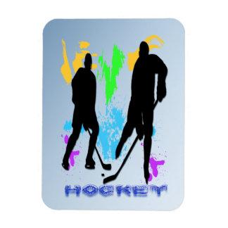Imán del premio de los jugadores de hockey