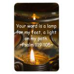 Imán del premio del 119:105 del salmo