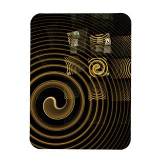Imán del premio del arte abstracto de la hipnosis