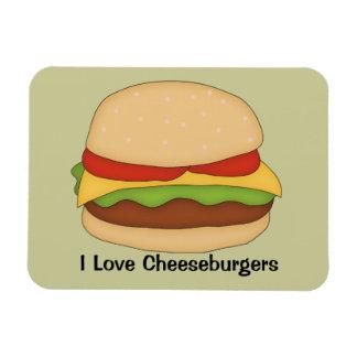 Imán del premio del cheeseburger