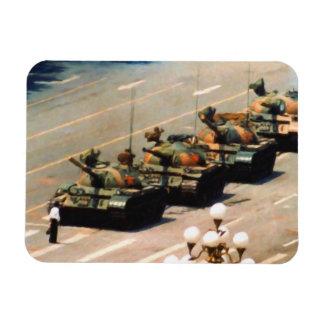 Imán del premio del hombre del tanque