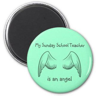 Imán del profesor de escuela dominical