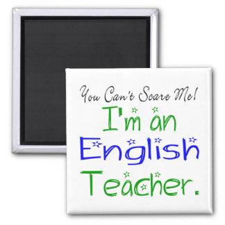 Imán del profesor de inglés