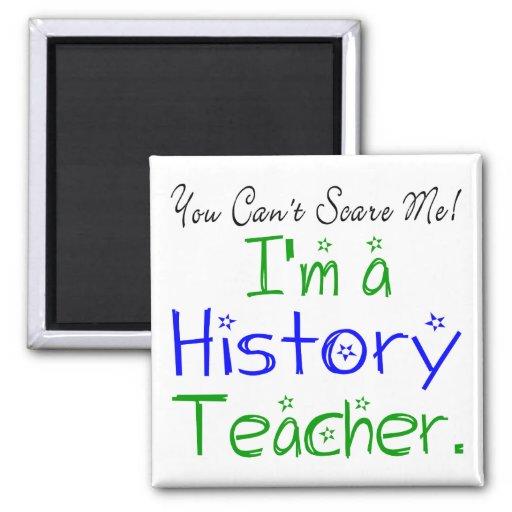 Imán del profesor de la historia