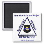 Imán del proyecto de Blue Ribbon