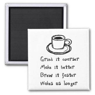 Imán del punk del café