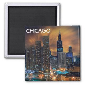 Imán del rascacielos de Chicago