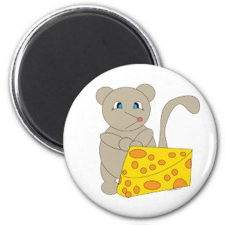 Imán del ratón y del queso