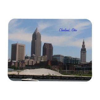 Imán del recuerdo de Cleveland Ohio