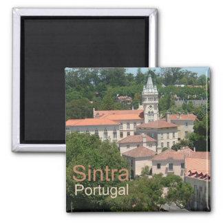 Imán del recuerdo de la foto del viaje de Sintra P