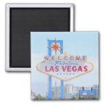 Imán del recuerdo de Las Vegas