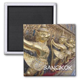 Imán del recuerdo del viaje de Bangkok Tailandia