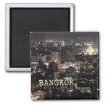Imán del recuerdo del viaje de la noche de Bangkok