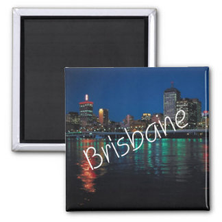 Imán del refrigerador de Brisbane Australia de la