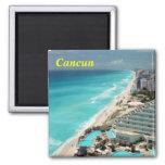 Imán del refrigerador de Cancun