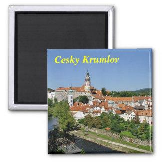 Imán del refrigerador de Cesky Krumlov