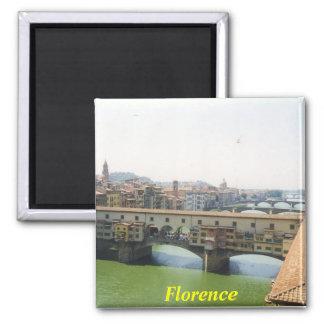 imán del refrigerador de Florencia