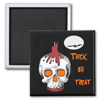 Imán del refrigerador de Halloween del truco o de