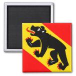 Imán del refrigerador de la bandera de Suiza Berna