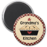 Imán del refrigerador de la cocina de la abuela