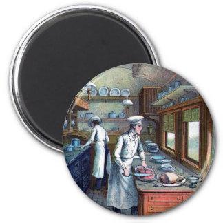 Imán del refrigerador de la cocina de los cocinero