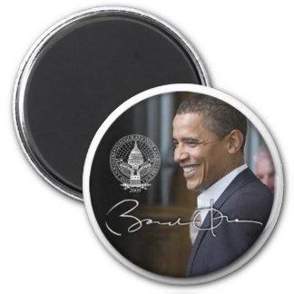 Imán del refrigerador de la firma de Obama - modif